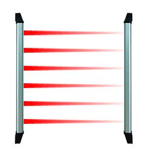 红外线报警器,天网红外幕栏